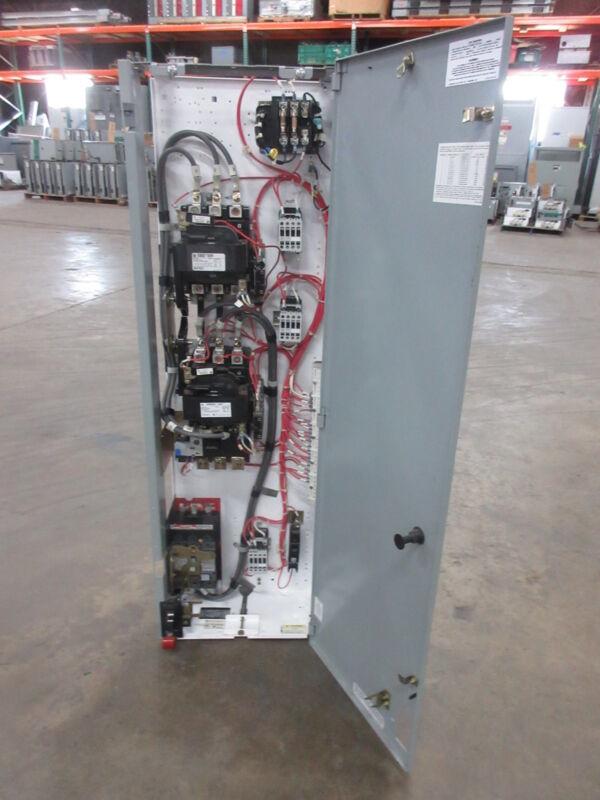 "General Electric GE 8000 Size 3 Reversing Starter 70 Amp Breaker 48"" MCC Bucket"