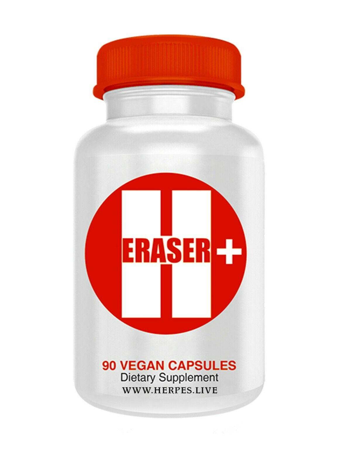 h eraser + herpes solution  1 BOTTLES