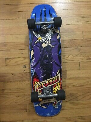 Black Label Emergency Jeff Grosso Demon Devil Bat Complete skateboard deck RARE