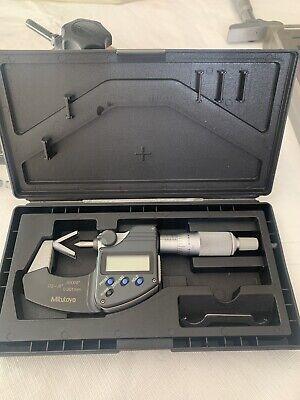 314-351-30 Mitutoyo V-anvil Micrometer .05-.6