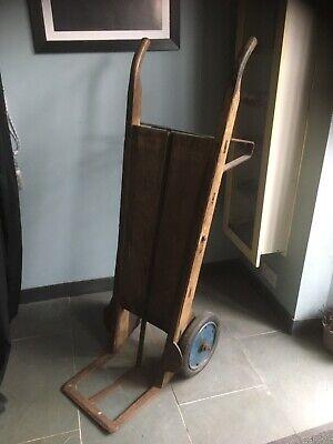 Large vintage sack barrow