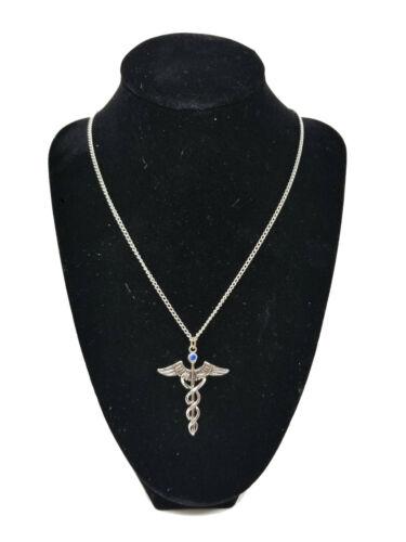 Jewels Atum Ra Egyptian Caduceus Amulet Healing Medical Pendant Talisman Jewelry