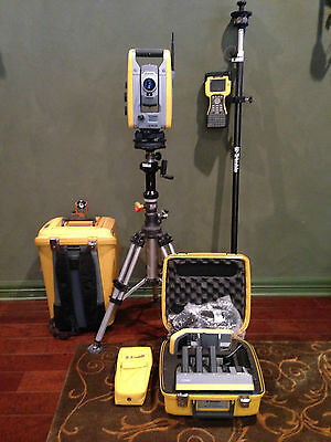 Trimble S6 1 High Precision Robotic Total Station With Tsc2 Wradio Calibrated