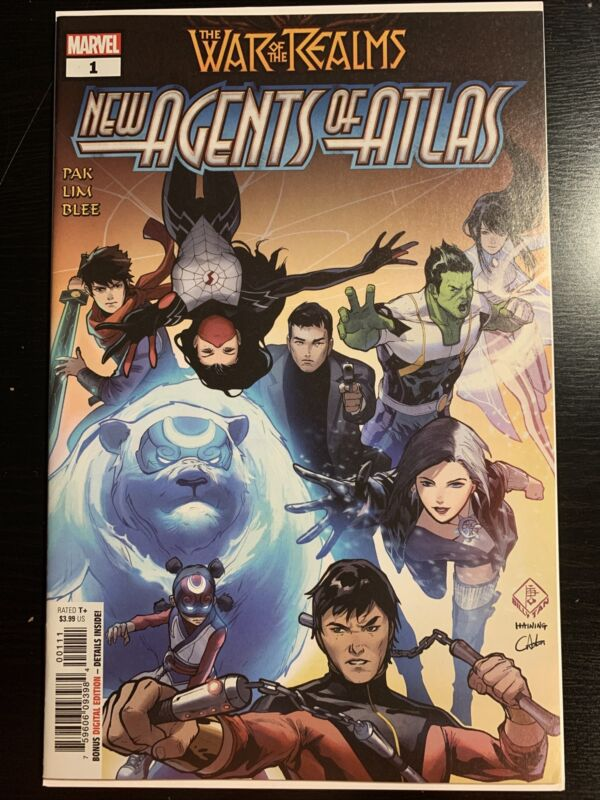 War of the Realms New Agents of Atlas 1 Marvel NM