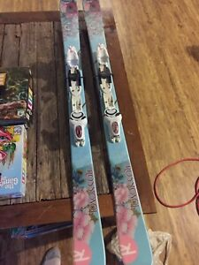 Youth rossignol skis 135 only used a few times