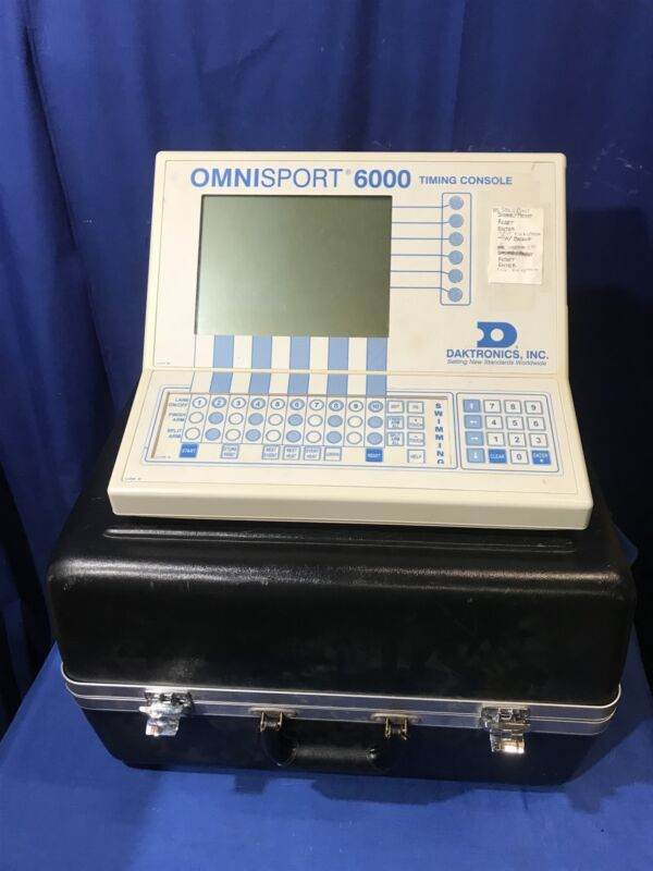 Daktronics Omnisport 6000 Timing Console 0A-1109-0039 FREE SHIPPING