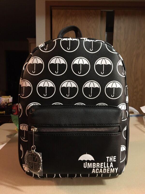 The Umbrella Academy Mini Backpack Bioworld Klaus Five Luther Vanya New