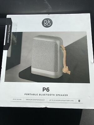 Bang & Olufsen Beoplay P6 Portable Speaker - Silver Natural