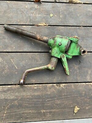John Deere 1010 Utility Tractor Three Point Leveling Crank With Screw