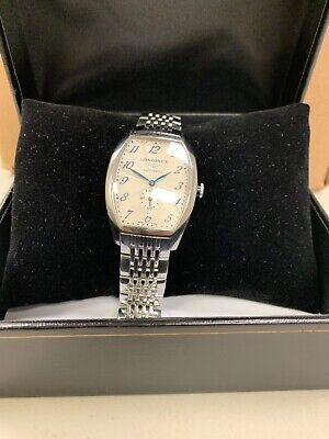 Longines Evidenza Automatic Silver Dial Men's Watch Model L2.642.4