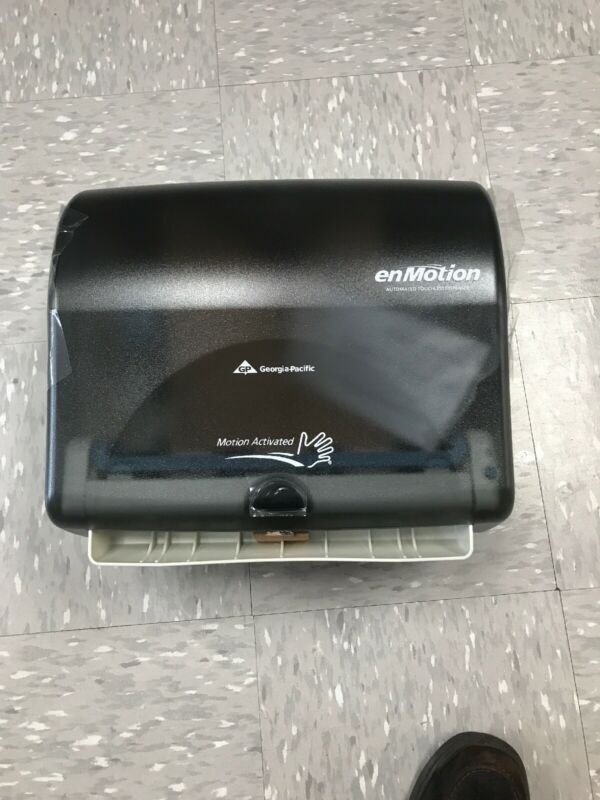 "Georgia Pacific Paper Towel Dispenser enMotion Impulse10"" 59488 Motion Activated"