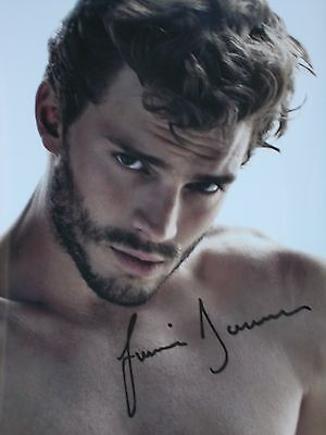 JAMIE DORNAN, FIFTY SHADES OF GREY, 8 X 10 SIGNED PHOTO, free shipping