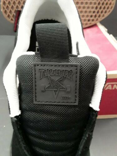 Vans UltraRange Pro Thrasher Collab Black Gum Skate Ultracush Shoe SIZE 8 / 40.5