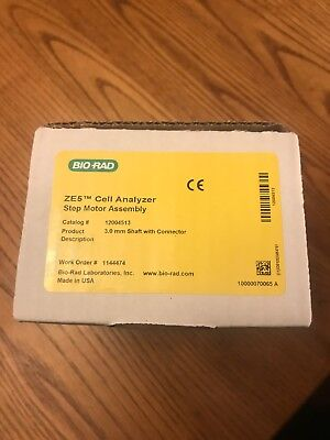 Biorad Bio-rad Ze5 Cell Analyzer Step Motor Assembly 12004513 New In Box