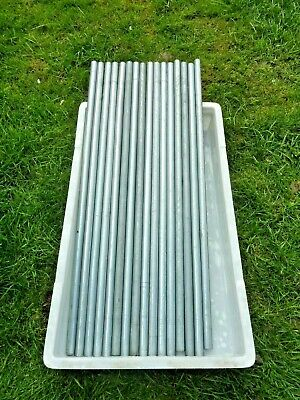 MILD STEEL ERW ROUND PIPE TUBE 880mm x 22mm  LENGTHS JOB LOT - ABSOLUTE BARGAIN