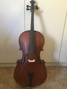 1/4 Size Cello Enrico Student Plus II Paradise Campbelltown Area Preview
