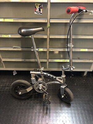mini bici pieghevole