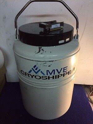 Mve Cryoshipper For Shipping Biological Samples At Cryogenic Temperatures Wcase
