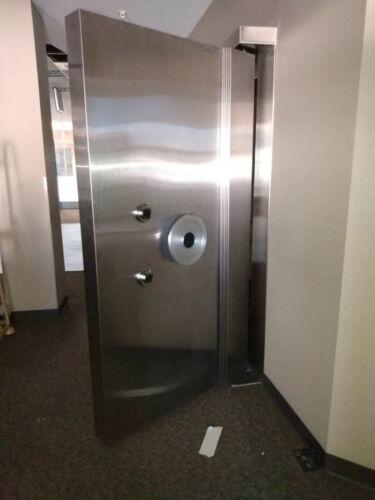HEAVY Bank Vault Right Hand Swing Door with Frame