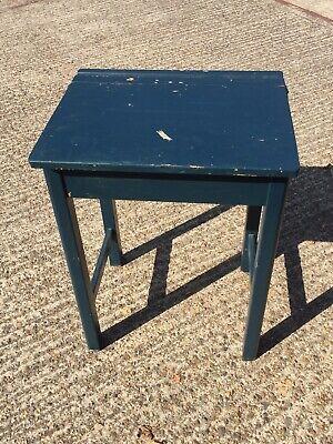 Vintage Style School Desk - Been Painted - Needs Tlc