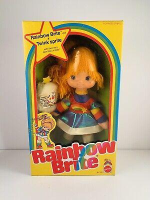 Vintage 1983 Rainbow Brite & Twink Sprite #7233 SEALED NEAR MINT