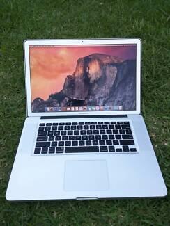 "Apple MacBook Pro Core i7 15"" 2011 laptop notebook"