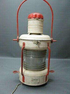 ALUMINIUM LAMPE SCHIFFSLAMPE Bootslampe Schiffslaterne