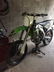 Kx450f with ownership!