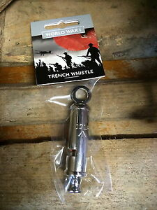 WWI Repro Trench Whistle 1916 British Empire Army The Somme WW1 World War One bn
