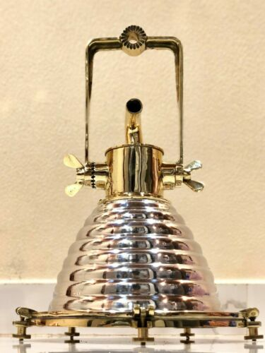 Nautical style Cargo Pendant Spot Aluminum Brass Hanging New Light 1 Ps