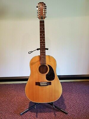Epiphone 01888 Pr 650-12-N 12 Acoustic Guitar From Japan Special