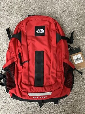 The North Face Hot Shot SE Special Edition 30L Backpack RED New NFOA3KYJKZ3-OS