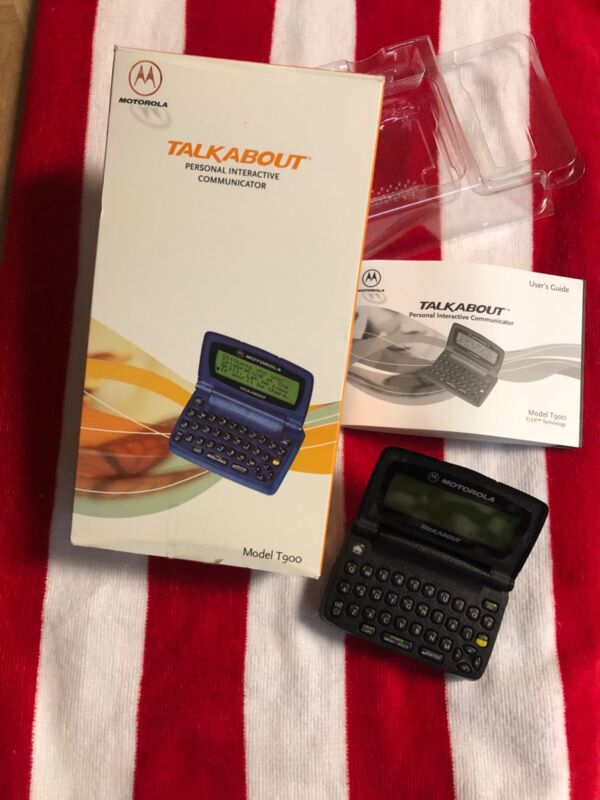 Motorola T900 (Black) Talkabout Personal Interactive Communicator
