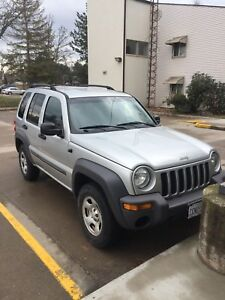 2004 Jeep Liberty certified and emissions tested