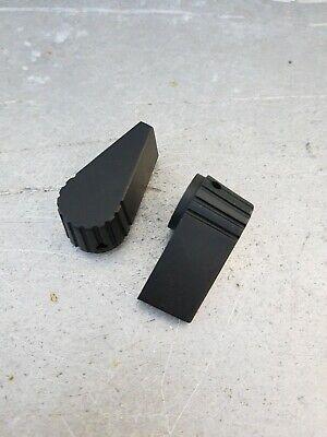 Pair Of Raytheon Control Knobs 14in. Dual Set Screws Mil Spec Nos