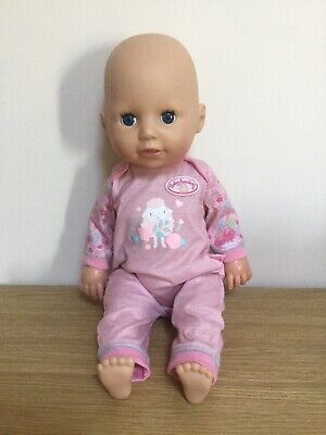 """ZAPF CREATION Baby Annabell Learns To Walk Crawl 3-In-1 16"""" Doll Interactive"""