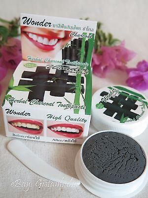 25g Aktiv Bambus-Kohle Zahnpasta Zahnpulver Geruch Whitening Hauch Natürlich Eco