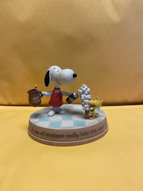 hallmark holiday peanuts - Snoopy in hot chocolate - No Box - 2011