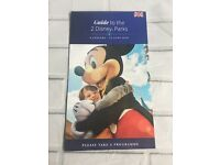 Disneyland Paris Guide Map To The Both Parks In English 6 Jan 12 June 2020