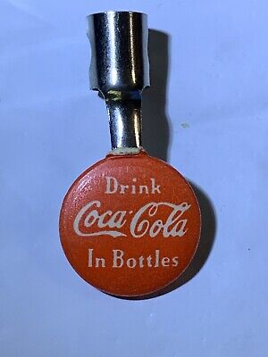 Vintage Coke Coca Cola Pen Pencil Clip