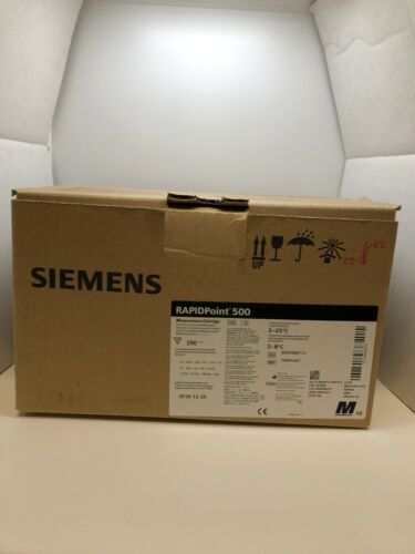 Siemens 10491447 RAPIDPoint 500 Measurement Cartridge - New