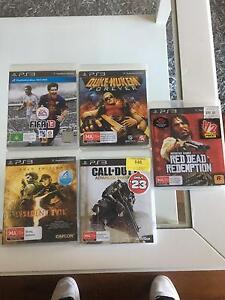 PS3 games x5 Coolbinia Stirling Area Preview