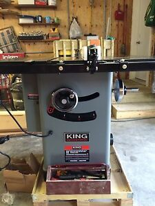 12 king industrial table saw