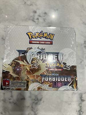 Pokemon Forbidden Lights Booster Box - 36 Packs; Sealed With Free Shipping