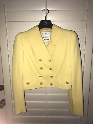 Moschino Cheap and Chic Cropped Jacket Vintage Size 8