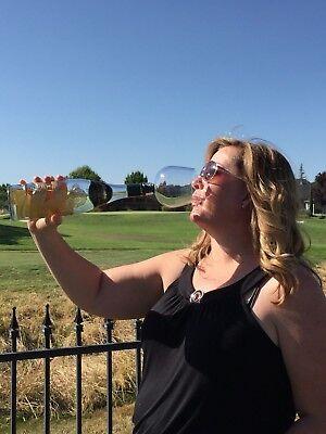 Guzzle Buddy 2 Go Unbreakable Tritan Plastic Wine Bottle Glass