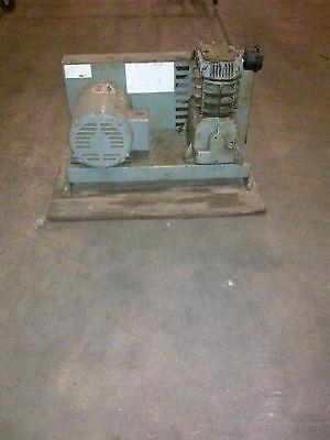 Used 1.5-hp Speedair Piston Air Compressor Base Mount