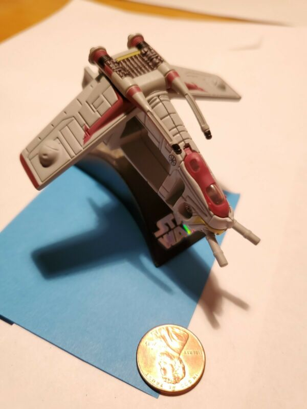 Star Wars Titanium Series Die Cast Republic Gunship LAAT