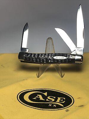 RARE VINTAGE CASE TESTED XX GREENBONE STOCKMAN KNIFE 6392 1920-40