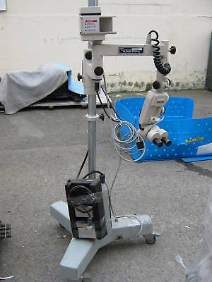 Olympus Stereo Microscope Head Storz Counterpoise Stand
